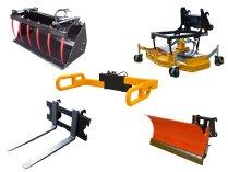 Навесное оборудование для строительной спецтехники