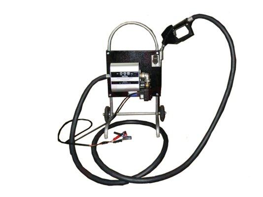 Мобильная АЗС для перекачки ДТ Benza 28-220-57 на 220 Вольт