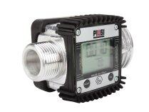 Счётчик бензина К24 ATEX PIUSI установленный на раздаточный пистолет