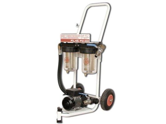 Фильтр очистки дизельного топлива Filkit Gespasa с насосом 220 вольт