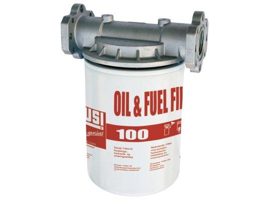 Фильтр для топлива и масла Piusi 100 л/мин, 10 мкм, арт: F0914900A.