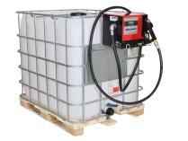 Мобильная АЗС для дизельного топлива Nano hit-56 на 220 Вольт (стандарт)