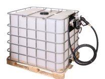 Мобильная АЗС для дизельного топлива Nano plus-45 на 24 Вольт