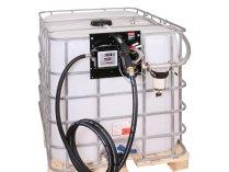 Мобильная АЗС для дизельного топлива Nano plus-45 на 24 Вольт с фильтром-сепаратором