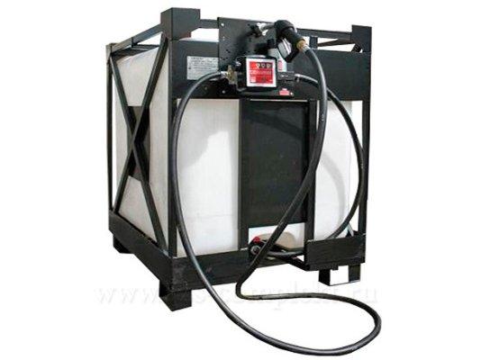 Мобильный топливный модуль KIPR-45 на 12 Вольт, для дизельного топлива