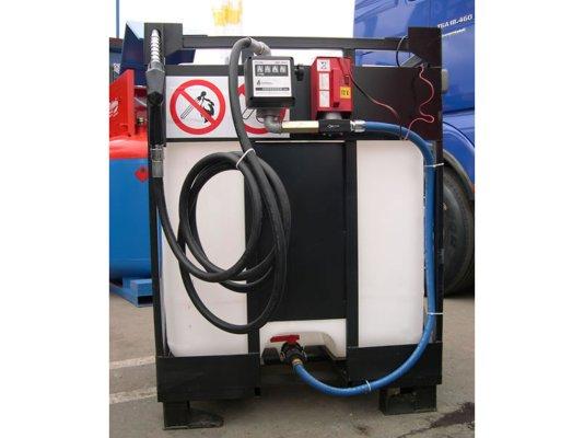 Мобильная АЗС для дизельного топлива STAR-56 на 220 Вольт