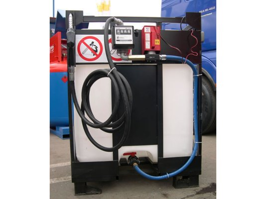 Мобильный заправочный модуль для дизельного топлива Liberty-70 на 220 Вольт