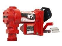 Насос для перекачки бензина Fill-Rite FR2405GE, на 24 Вольт, 57 литров в минуту