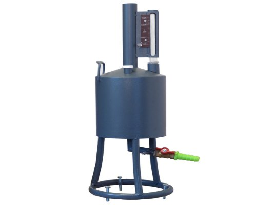 Мерник М2Р-5-01 без пеногасителя, нижний слив, объемом 5 литров