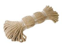 Веревка джутовая 8,0 мм (30 м)