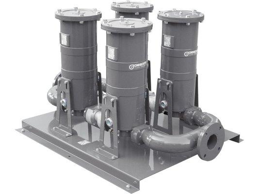 Сепаратор для очистки дизельного топлива, бензина и керосина FG-700х2 Gespasa
