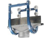 Высокотемпературная передвижная каретка ALU150/250 DN 150