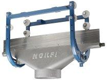 Высокотемпературная передвижная каретка ALU150/250 DN 200
