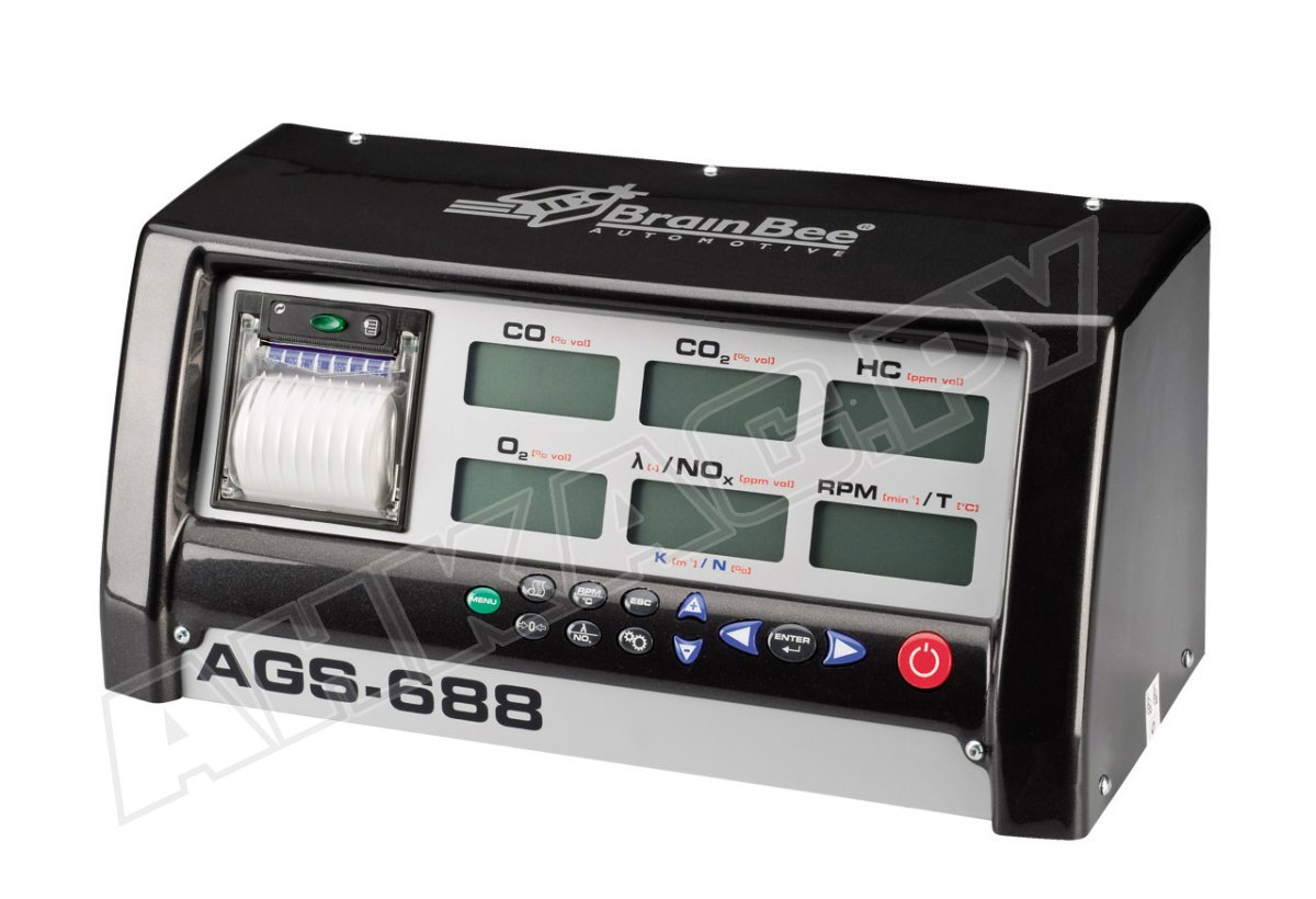 Анализатор выхлопных газов ast-75 схема