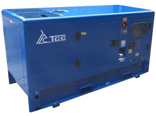 Дизельный генератор ТСС Проф 25 кВт АД-25С-Т400-1РКМ5 в шумозащитном кожухе арт. 010341