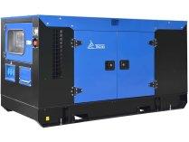Дизельный генератор ТСС Проф 30 кВт АД-30С-Т400-1РКМ7 в шумозащитном кожухе