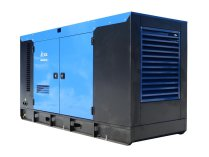 Дизельный генератор ТСС Проф 80 кВт АД-80С-Т400-1РКМ5 в шумозащитном кожухе