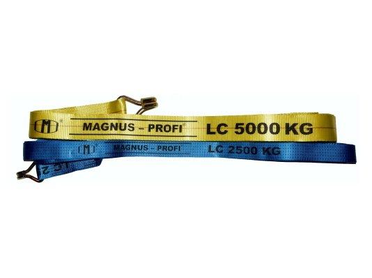 Длинная часть ремня стяжного Magnus Profi 38 мм, 10,5 м арт. SZ044577